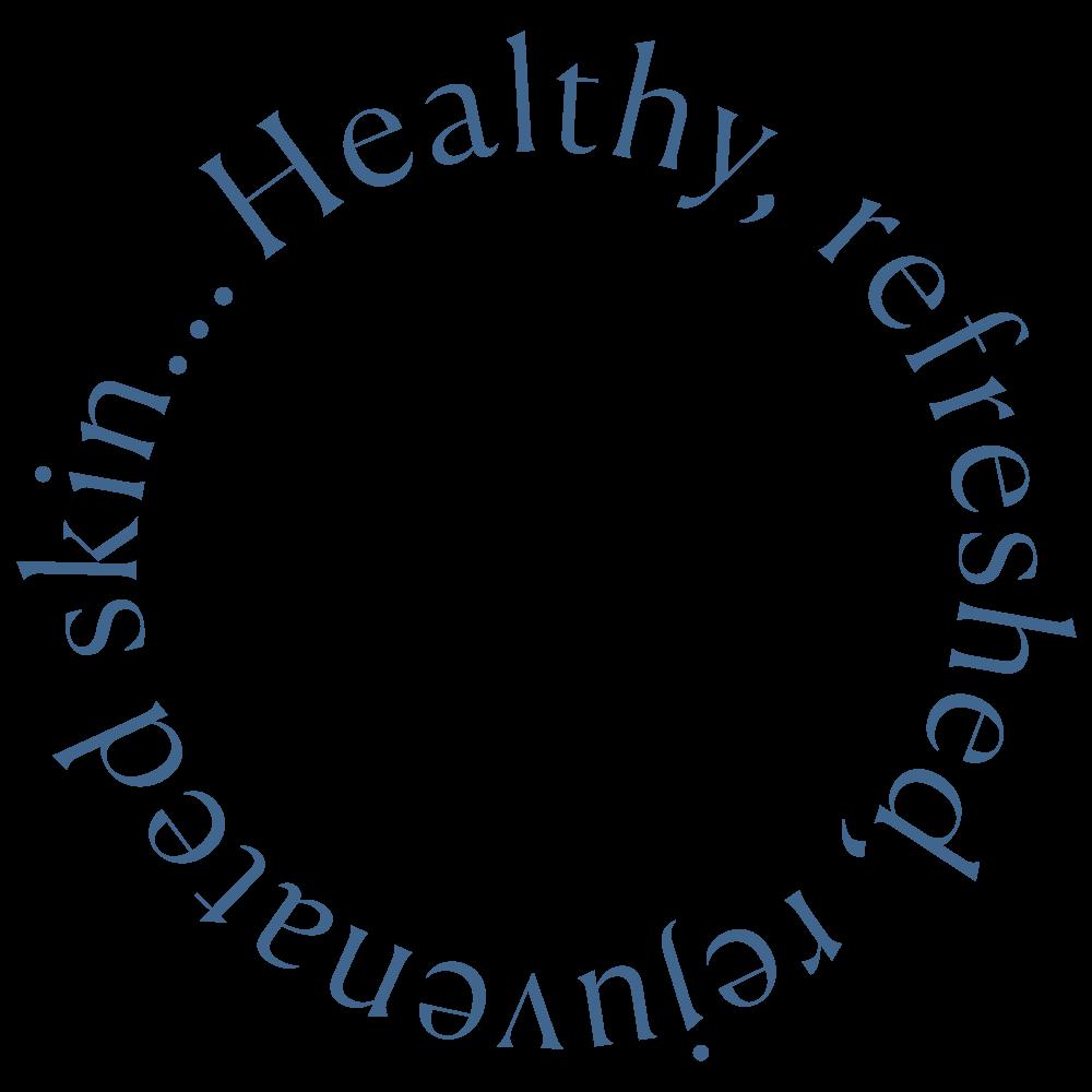 healthy refreshed rejuvenated skin circle